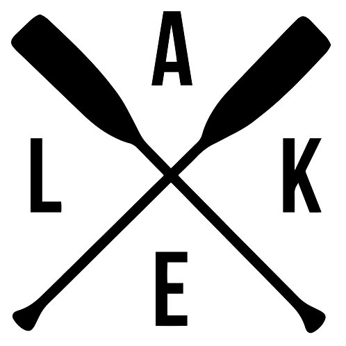 "Lake 12""x12"""