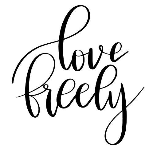 Love Freely Single