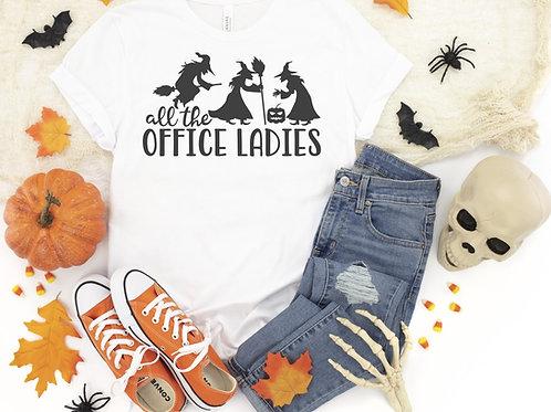 All The Office Ladies Crew Tee
