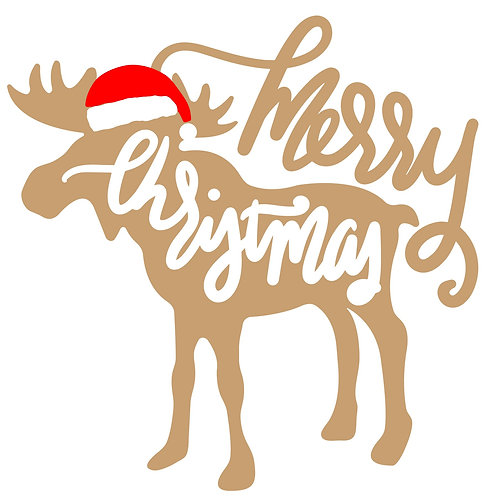 Merry Christmas Moose MBC