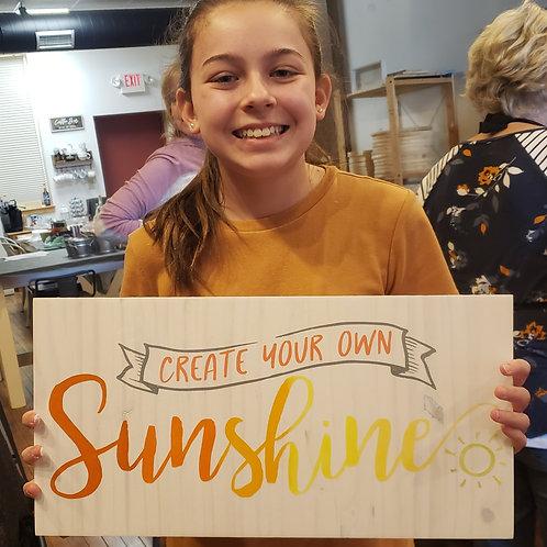 Create Sunshine Take Home Kit