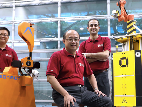 JTC and NTU partner to create robots for the construction industry