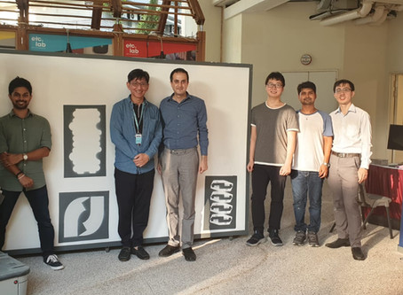 Pictobot wows the crowd at SMART Technology Roadshow in Ngee Ann Polytechnic