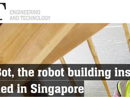 Quicabot featured in Engineering & Technology