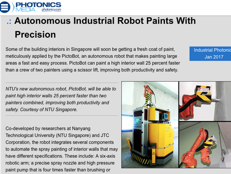 Photonics Media features Pictobot