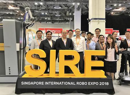 Transforma's New Robots @ SIRE 2018