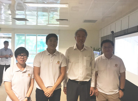 Transforma Robotics brings QuicaBot to Deputy Prime Minister