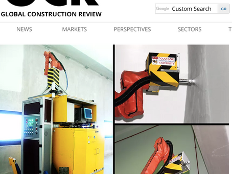 Global Construction Review features Pictobot