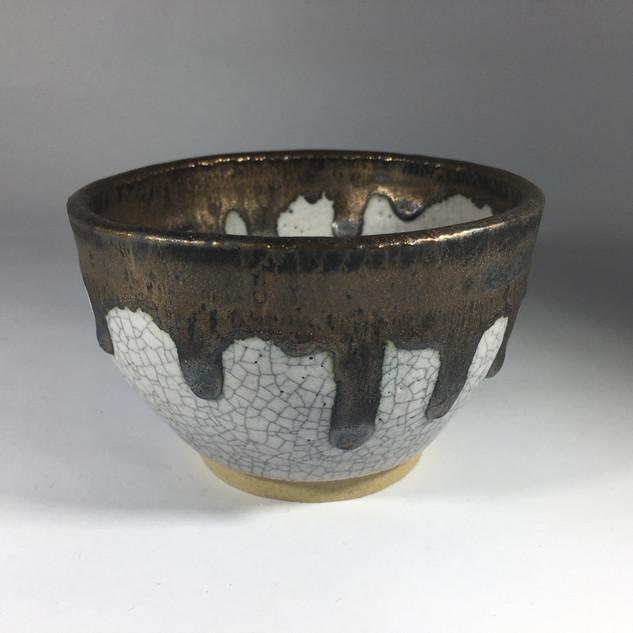 Stoneware Crakle Bowl