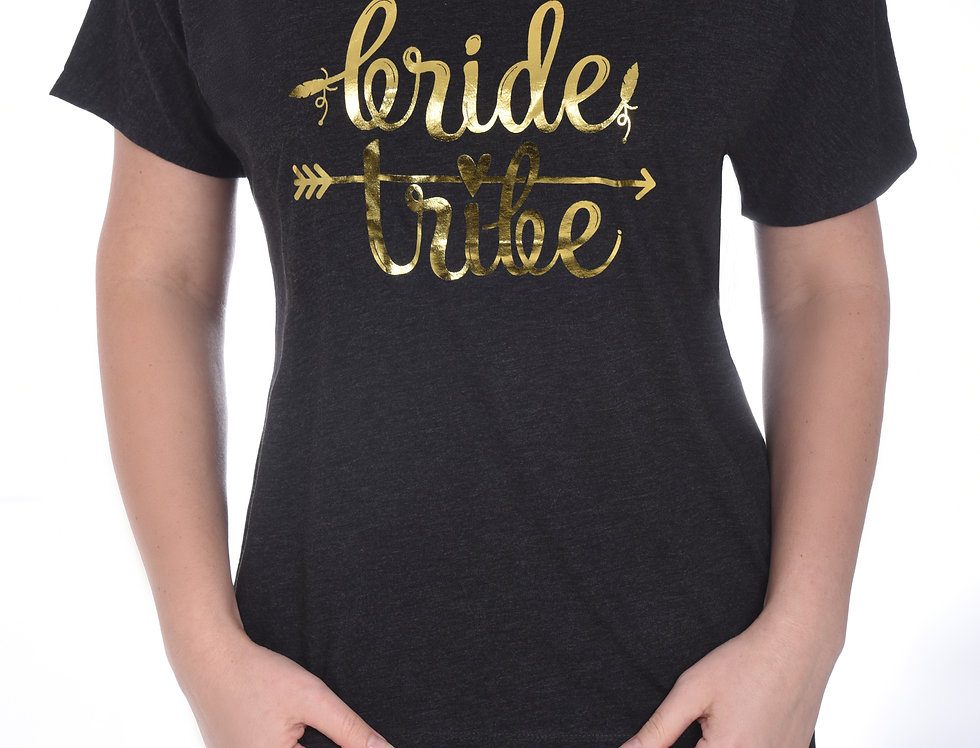Bride Tribe Relaxed T-Shirt - Charcoal