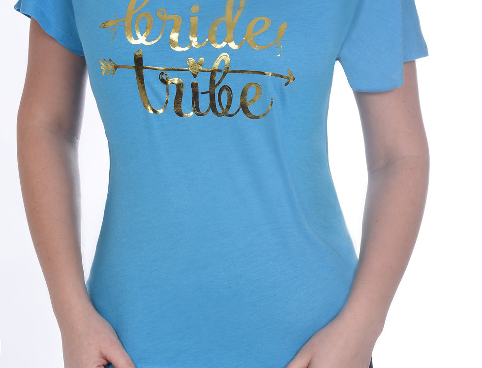 Bride Tribe Relaxed T-Shirt - Turquoise