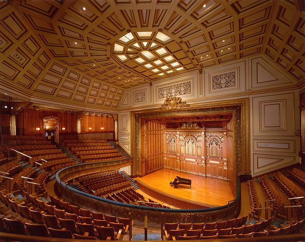 Jordan Hall/New England conservatory of Music,Historic Concert Hall, Lay light, historic seating array