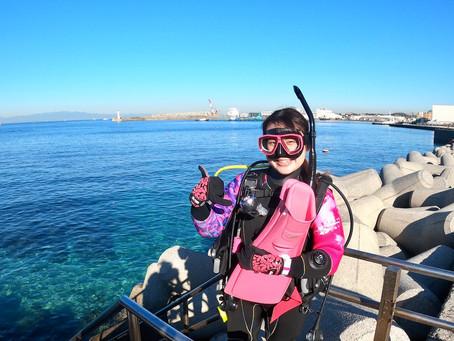 今日も海が青い!城ヶ島でマンツーマンダイビング〜🐠