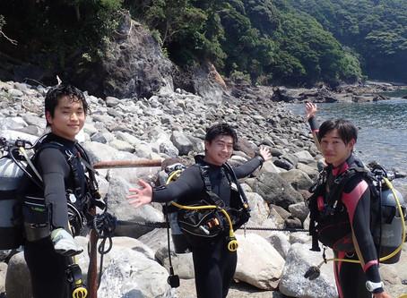 ダイバー誕生な福浦ダイビングDAY
