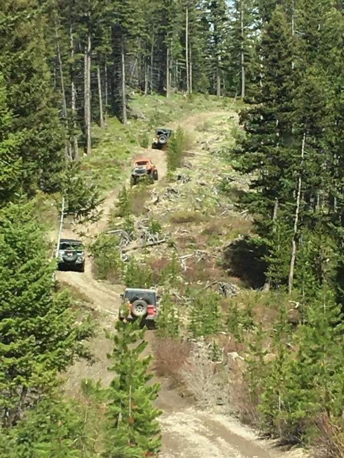 Blue Mountain Jeep Trail