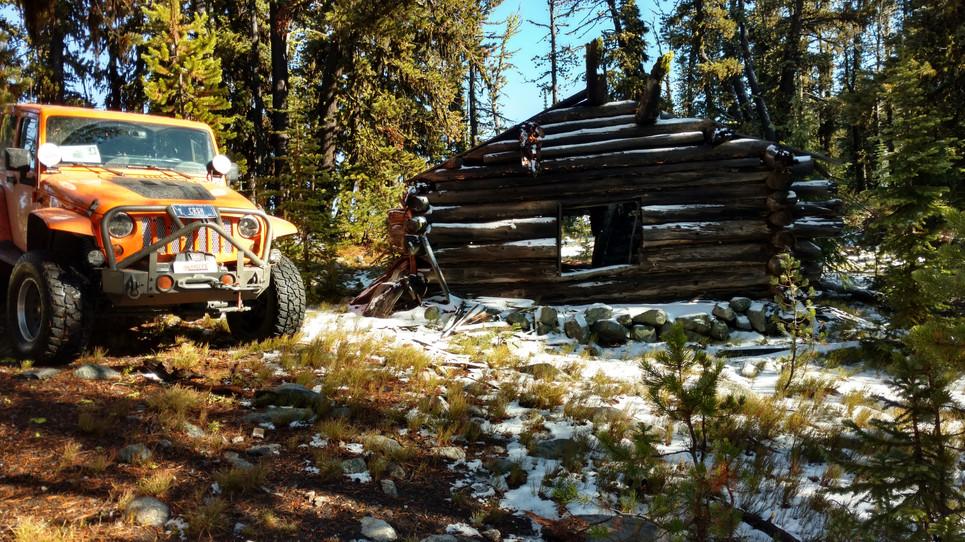 Cabin at Ivanhoe Mine