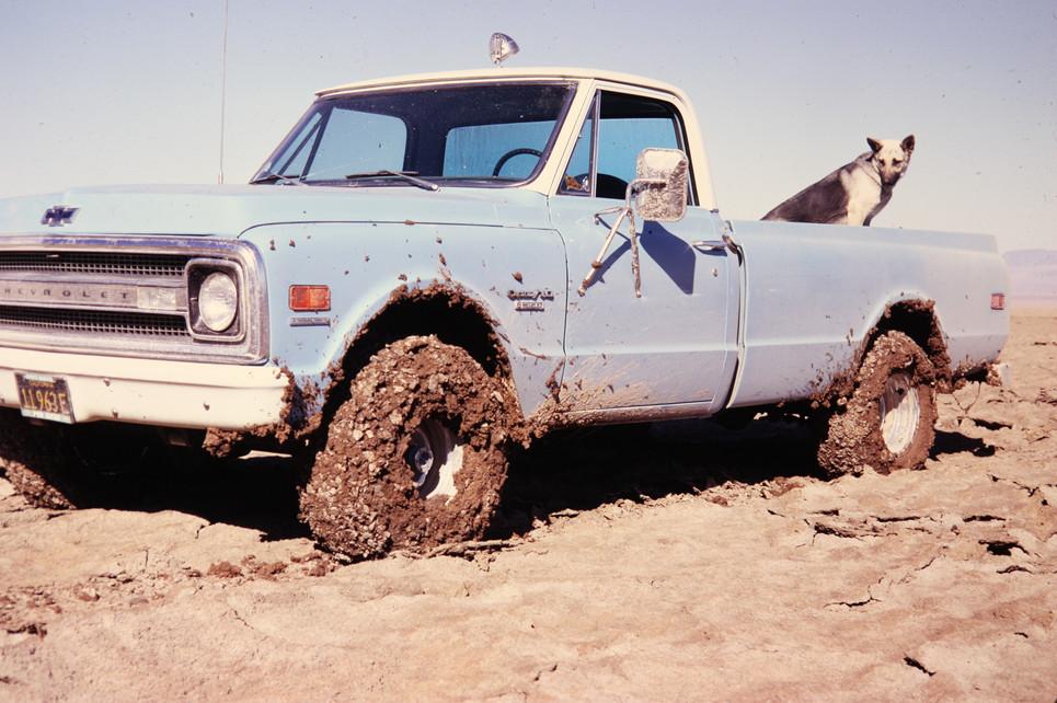 4x4 chevy truck, 1969, death valley