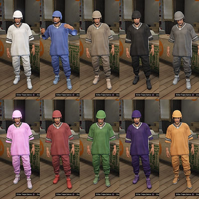 gta 5 online ps4 xb1 modded outfits joggers modded bp helmets
