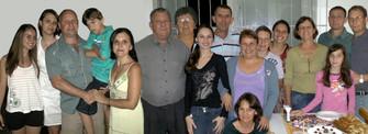 Família de Iole Cornelli e Wilson Becker