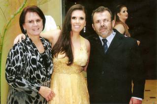 Lourdes, Verônica e Natalino