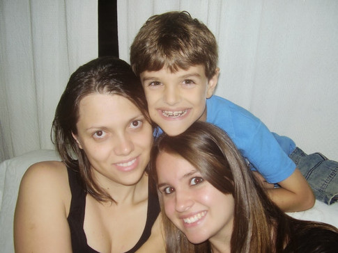 Daiana, Gabriel e Luana Cichelero Becker