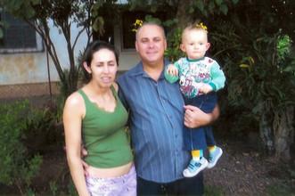 Santa Fabiana, Leandro e Davi