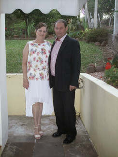 Vera Lúcia Sangalli Becker e Alexandre Becker