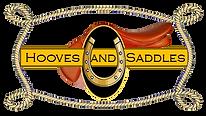Hooves and Saddles-Logo-Revised-BLACK -1