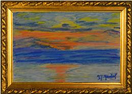 M Carasso-Orange Sunset-4-2016