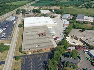 Aerial view - Cantarero Pallets, Inc. Wauconda, IL facility