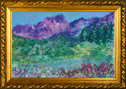 Many Shades  of Green in Aspen 2 Oil Pas