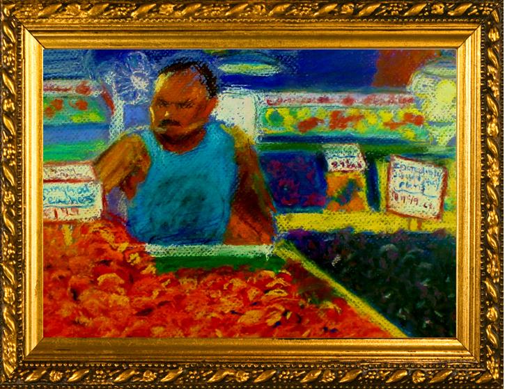 Man in fruit store-4