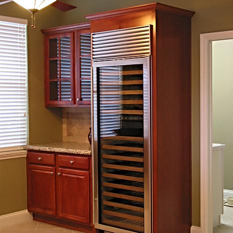 DHKitchens custom designed wine cooler