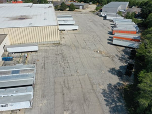 Aerial view-Cantarero Pallets, Inc. Loading area
