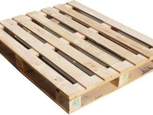 Closed Bottom Wood Pallet
