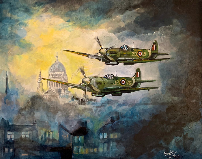 Spitfires and St. Paul's