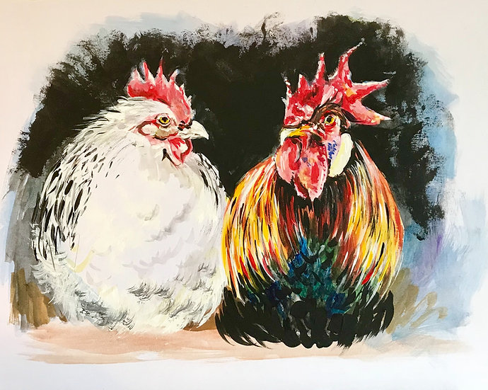 Chatting Chickens
