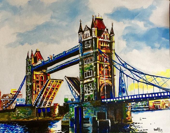 Colourful Tower Bridge