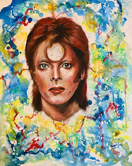 Colourful Bowie
