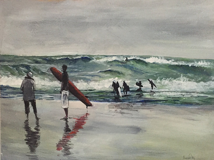 Stormy Surfers