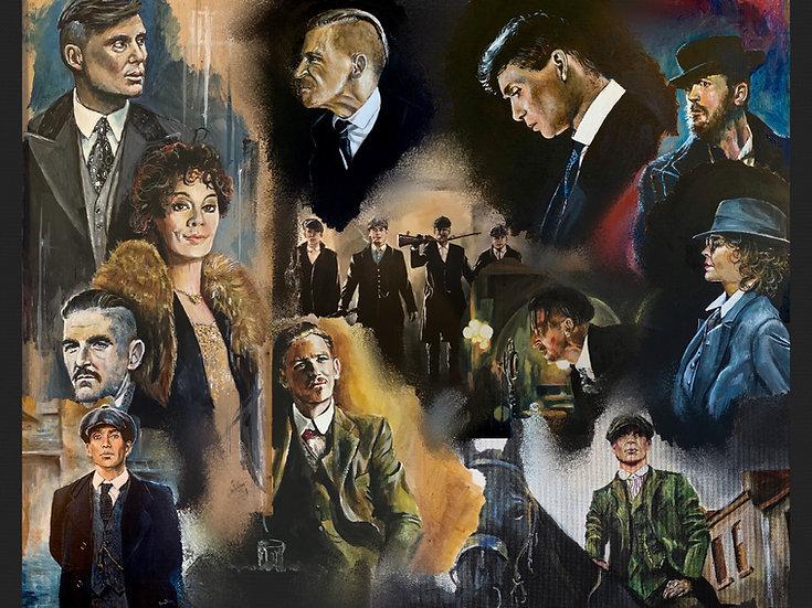 Peaky Blinders Collage