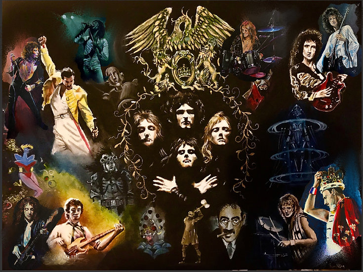 Queen Collage