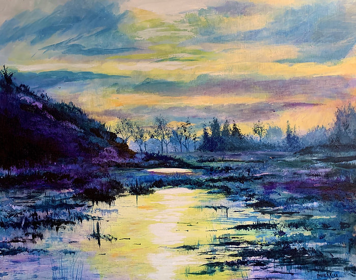Purple Wetland