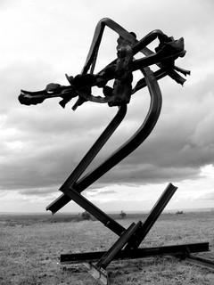 """""""La Mort du musicien,fugue""""2004"""
