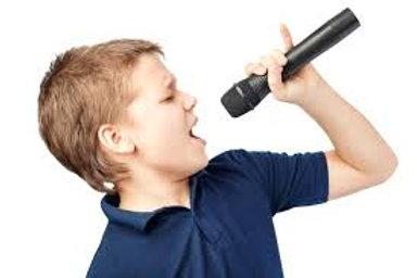 30 Min Vocal Lesson