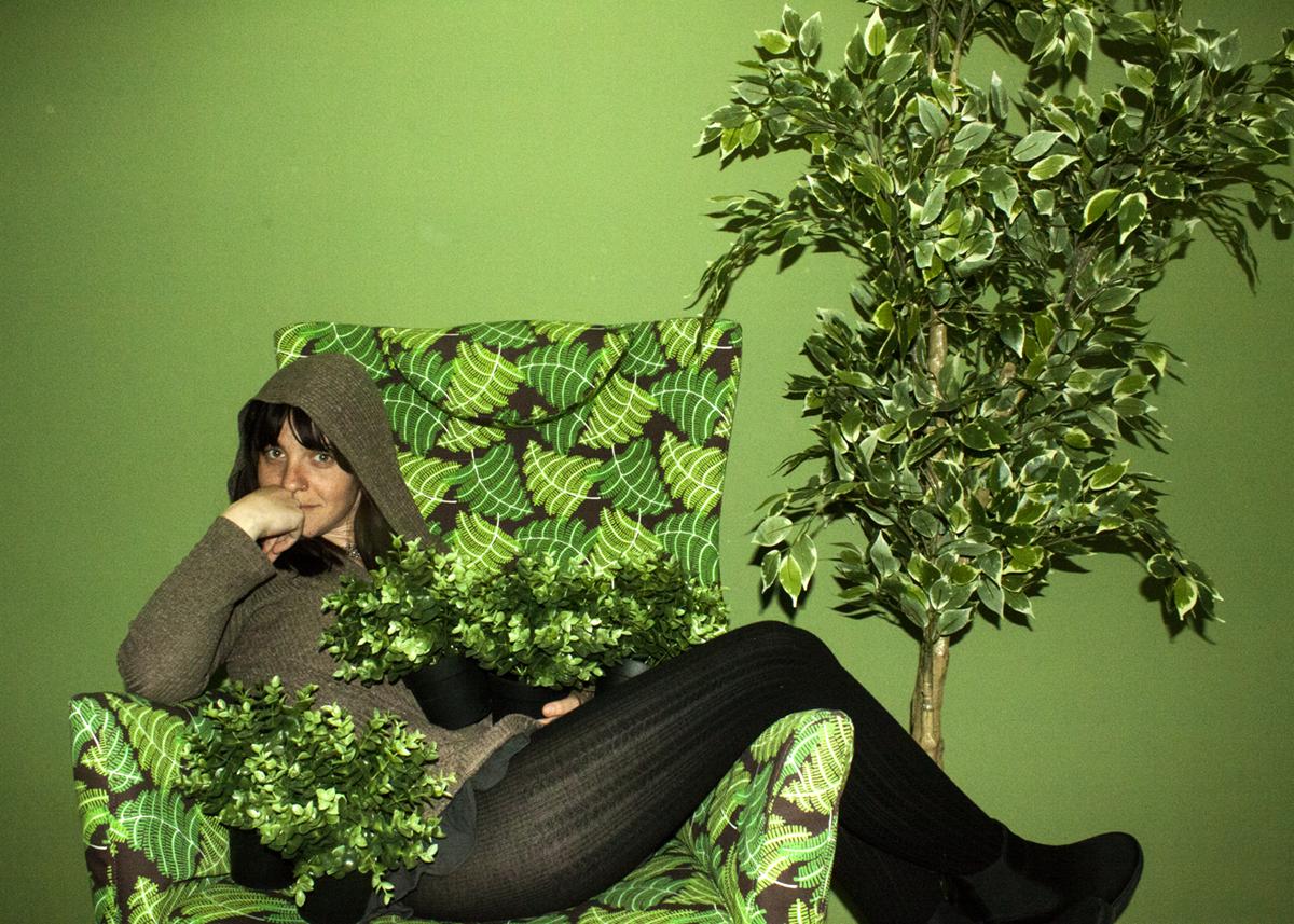 עץ ירוק מפלסטיק 9