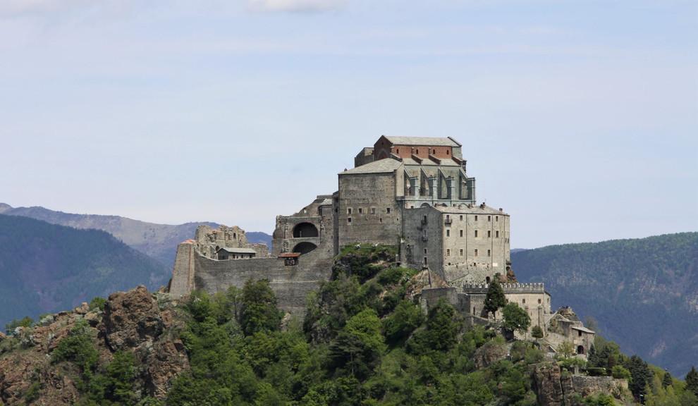 #101 klostret san michele i piemonte, italien