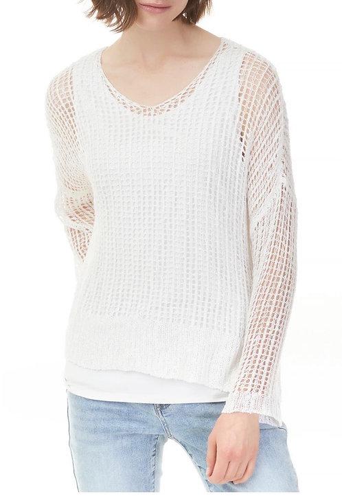 Charlie B Crochet Sweater Set