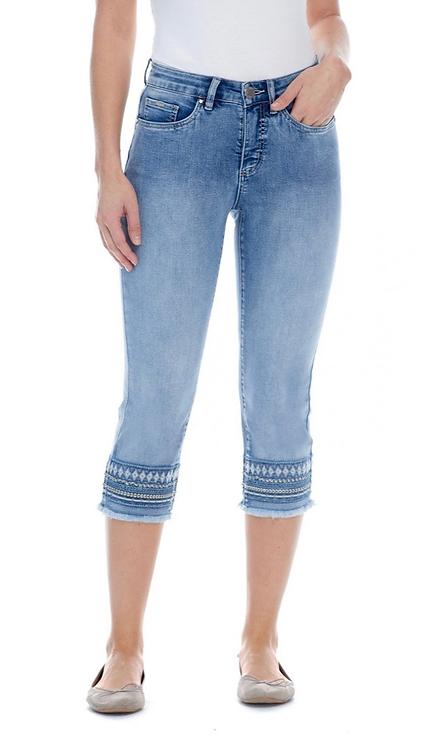 FDJ Olivia Capri Jeans