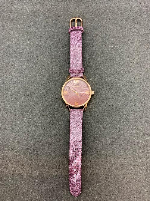 Plum /Rose Gold Watch